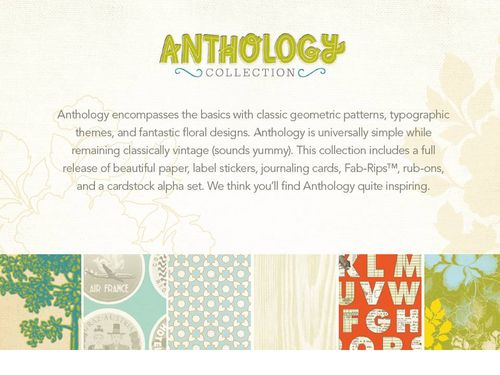 Anthology+line